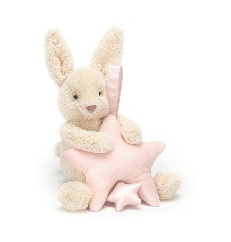 MUSICAL STAR BUNNY PINK
