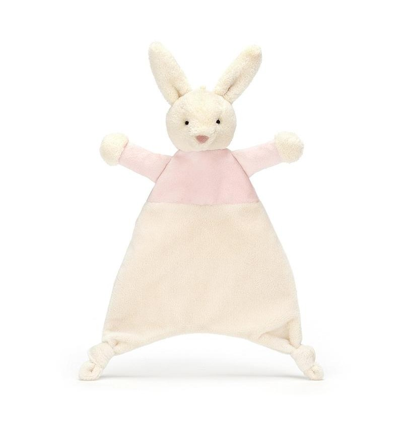 DOUDOU STAR BUNNY PINK SOOTHER